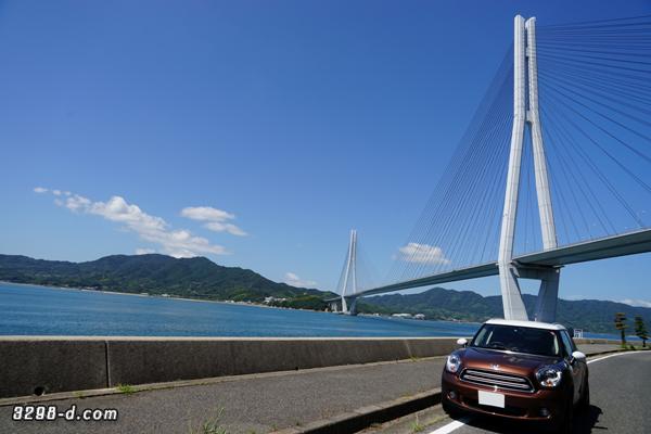 MINIクロスオーバーしまなみ海道ドライブ@多々羅大橋