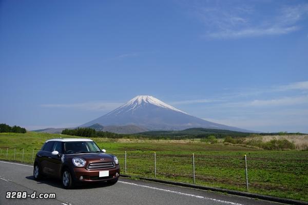 MINIクロスオーバーでゴールデンウイークに富士山へ新緑ドライブ